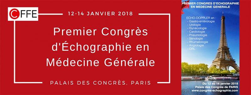 Premier Congrès Déchographie En Médecine Générale Paris 12 14