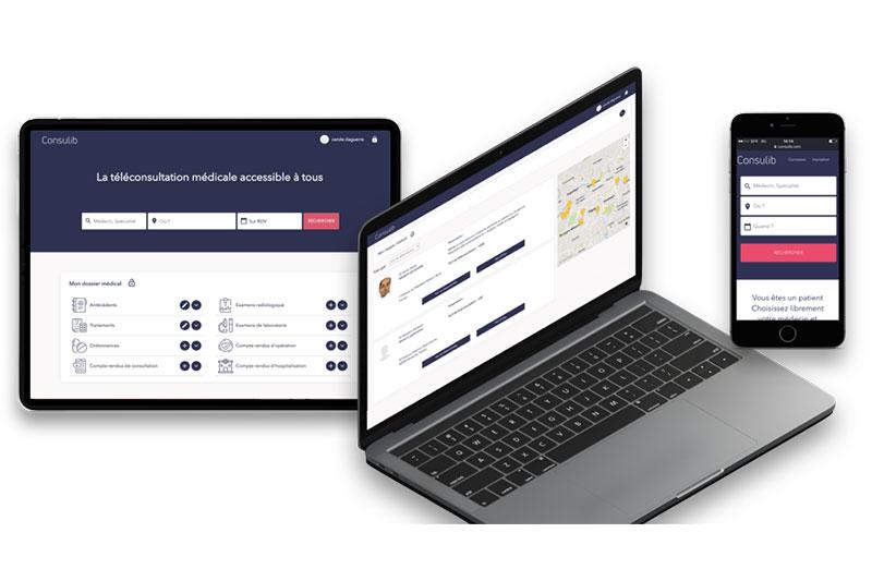 Consulib.com, première plateforme de téléconsultation sans engagement pour les médecins libéraux