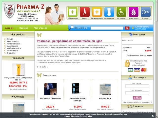 Pharmacie en ligne pas de calais - Pharmacie en ligne frais de port gratuit ...