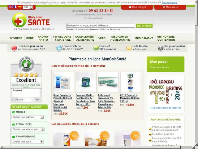 Annuaire pharmacie en ligne - Pharmacie en ligne frais de port gratuit ...