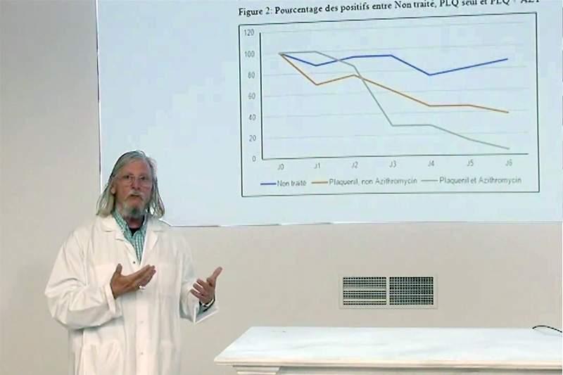 Un laboratoire français parle d'essais
